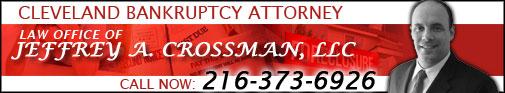 Cleveland Bankruptcy Attorney Jeffrey A. Crossman, LLC.